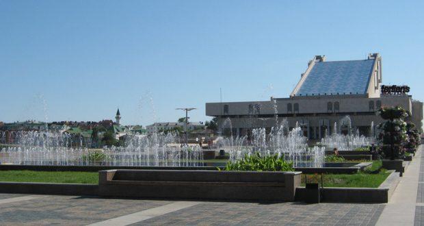 На площади перед театром имени Г.Камала состоится праздник, посвященный предстоящему Году театра в России