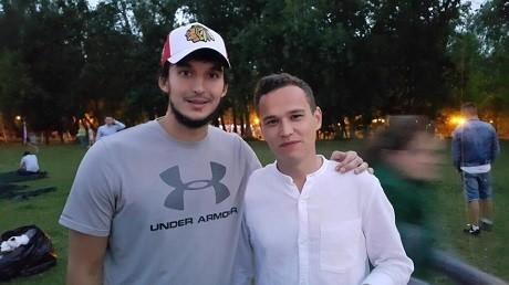 Вратарь «Ак Барса» Эмиль Гарипов принял участие в ифтаре татарской молодежи