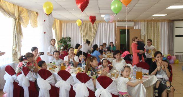 Детский праздник в Уральске