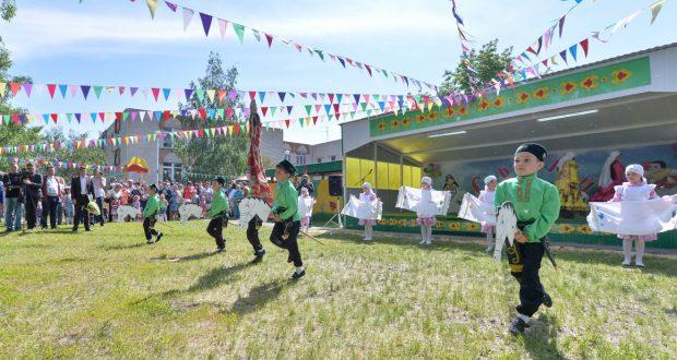 Детский Сабантуй состоялся в Ульяновской области
