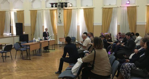 Отчетно-выборная конференция татарской национально-культурной автономии Московской области