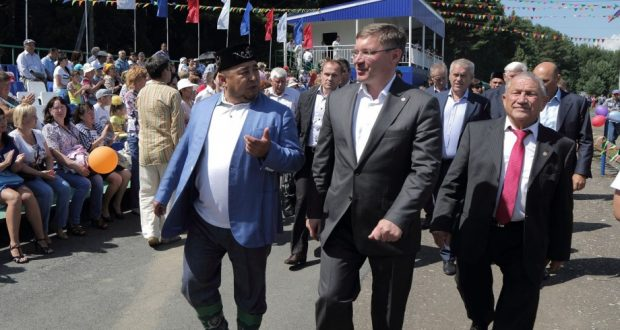 В Вагайском районе Тюменской области прогремел Сабантуй