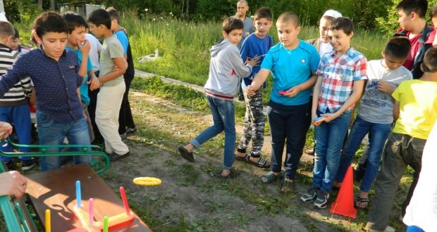 Детский праздник «Твори добро» прошел в Рязани