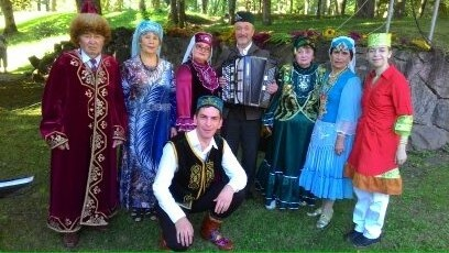 Tatars and Bashkirs Latvia brilliantly represented their native culture