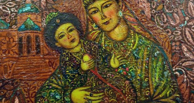 """Artists of Tatarstan: the image of Syuyumbike – the last queen of Kazan Khanate on the eve of the 500th anniversary of the birth"""