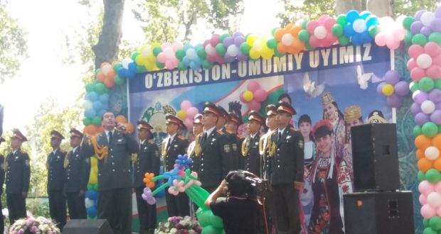 25th anniversary of Independence of the Republic of Uzbekistan celebrated in Tashkent