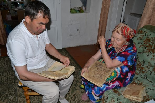 Башкүл авылында яшәүче Асия апада