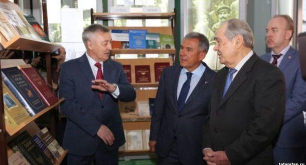 Рөстәм Миңнеханов: «Татар тарихына кагылышлы җитди планнар бар»