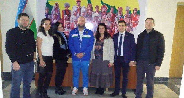 Встреча с Олимпийским Чемпионом Русланом Нурудиновым