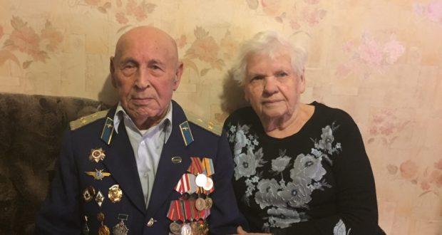 В Санкт — Петербурге поздравили ветеранов Великой Отечественной войны