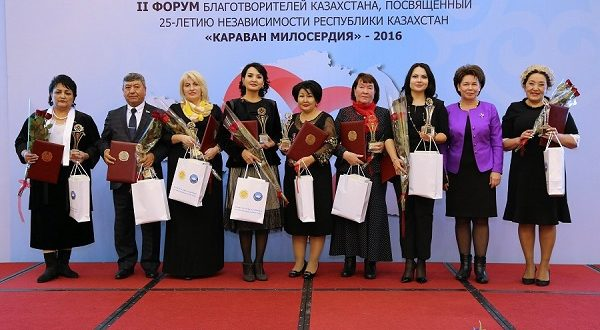 Yannat Nizamutdinova – among the 50 patrons of Kazakhstan