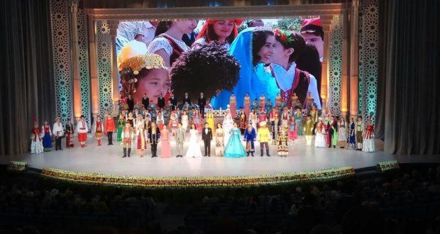 25-летие со дня образования республиканского интернационального культурного центра (РИКЦ) Узбекистана