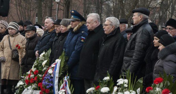 Татарская община Клайпеды приняла участие в памятных мероприятиях, посвященных 72-летию освобождения Литвы от немецко-фашистских войск
