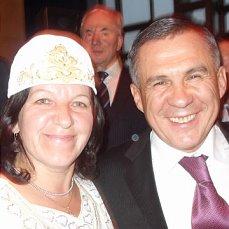 Сахалин татарлары Татарстан Президенты Рөстәм Миңнехановны юбилее белән тәбрик итә