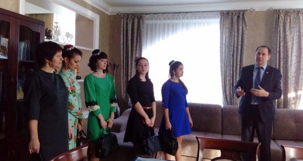 Встреча в Полномочном представительстве Татарстана в Казахстане