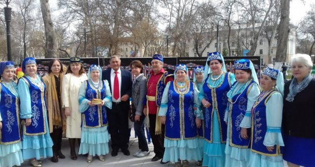 Celebration of Navruz by  national cultural centers of Uzbekistan in Tashkent
