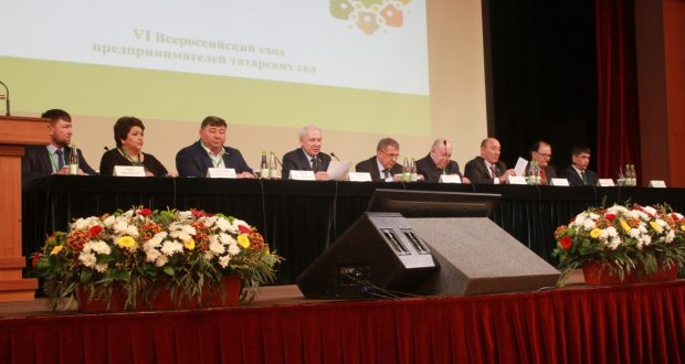 VI All-Russian Gathering of Entrepreneurs of Tatar villages: Plenary Session