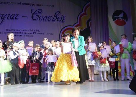 В Казани проходит IV Международный конкурс вокалистов «Сандугач-Соловей»