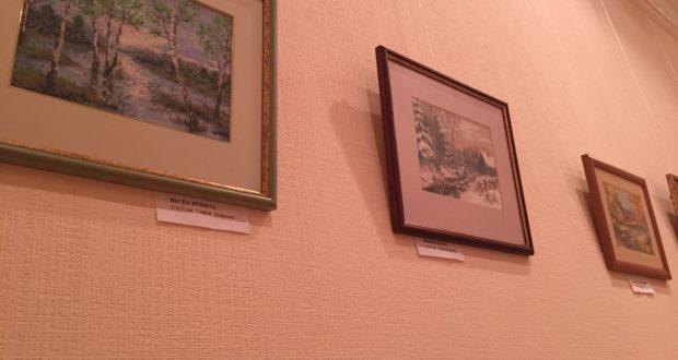 Выставка вышитых картин Сафии Теляшовой
