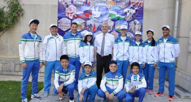 В Ташкенте прошла встреча с участниками  III Всемирных игр юных соотечественников,  которые пройдут с 14 по 20 мая в г.Казани