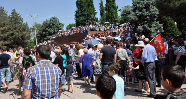 В столице и регионах Узбекистана прошли мероприятия,  посвященные 72-ой годовщине Победы над фашизмом