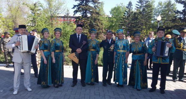 9 мая в Семее чествовали ветеранов Великой Отечественной войны и тружеников тыла