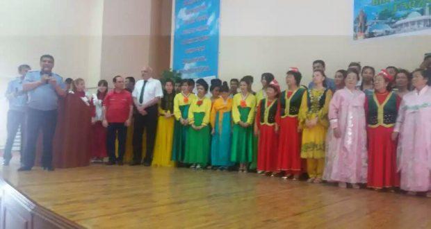 Праздник дружбы отметили в Ташкентском профессиональном колледже железнодорожного транспорта