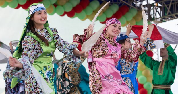 На Троицкой земле 30 тысяч человек праздновали Сабантуй