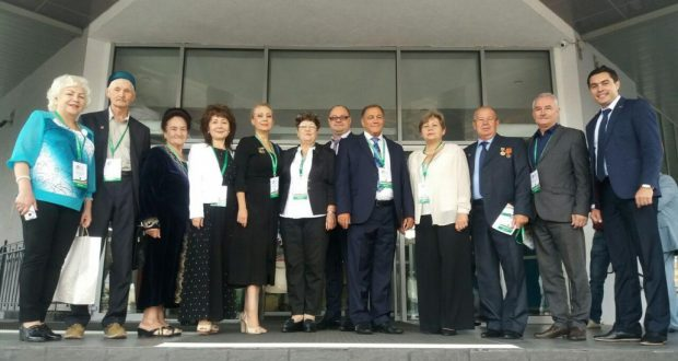 Делегация татар Узбекистана приняла участие в VI съезде Всемирного конгресса татар в Казани