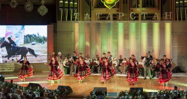 Гала-концерт мастеров искусств Республики Татарстан в Москве