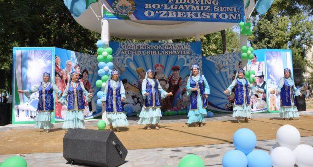26-летие Независимости Республики Узбекистан отметили в Ташкенте