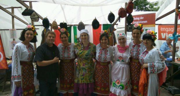 Татары на фестивале мировых культур в Магдебурге
