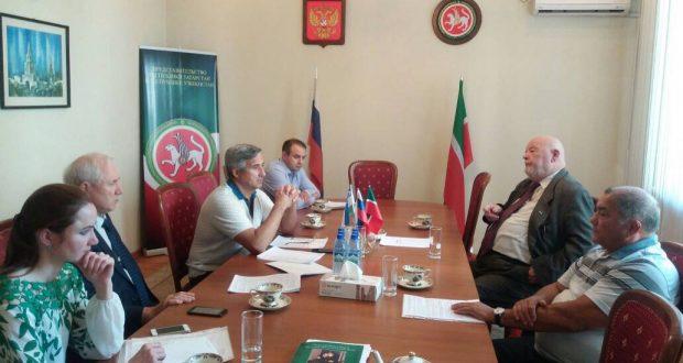 Ташкентта татар оешмасы җитәкчеләре белән очрашу