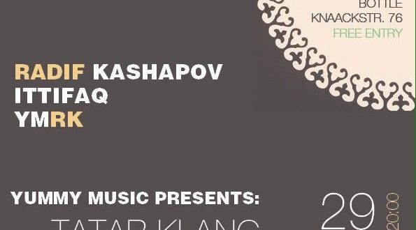 A modern alternative Tatar music will be performed in Berlin