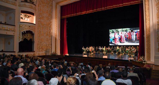 Рустам Минниханов в Ташкенте посетил концерт мастеров искусств Республики Татарстан
