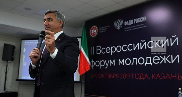 Василь Шайхразиев встретился с участниками молодежного форума «Золото тюрков»