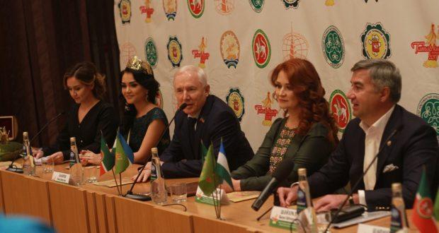 Фоторепортаж: Пресс-конференция международного конкурса «Татар Кызы 2017»