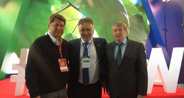 Руководство Конгресса татар и башкир Республики Казахстан встретилось с генеральным директором телерадиокомпании «Татарстан — Новый Век»