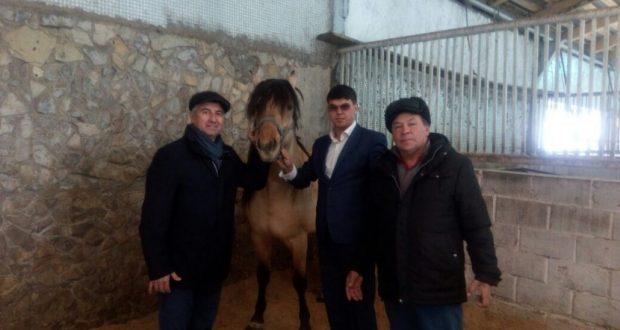 Василь Шайхразиев посетил с. Улу-Теляк