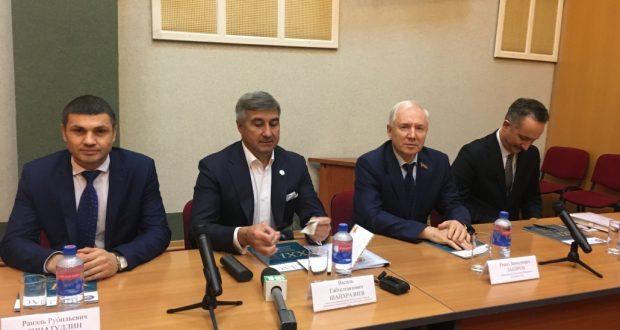 Василь Шайхразиев проводит встречу с руководителями общественных организаций Башкортстана