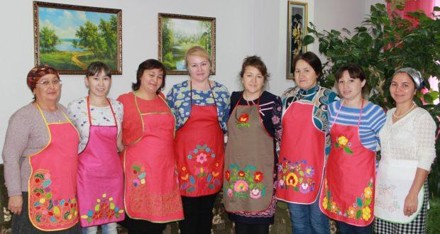В Аракаево прошел мастер-класс по тамбурной вышивке