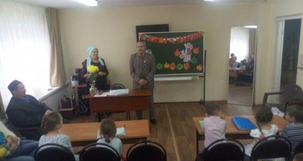 Сургутта татар якшәмбе мәктәбенең уку елы башланды