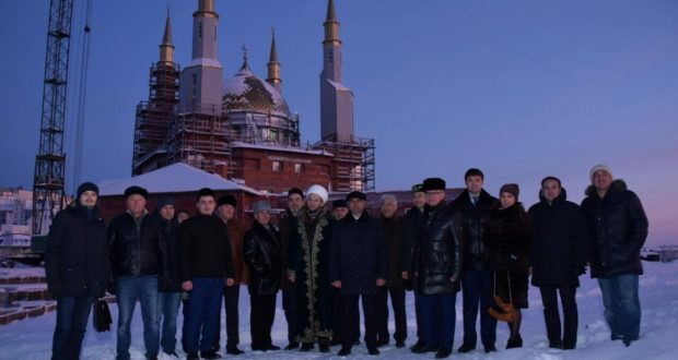 Vasil Shaihraziev visited the construction site of the Nizhnevartovsk mosque