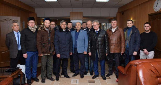 The delegation of Tatarstan arrived in Nizhnevartovsk