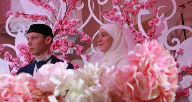 The festival of the Tatar wedding took place in Moscow
