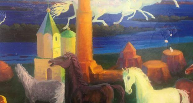 Чувашстанда рәссам Мидхәт Шакировның күргәзмәсен тәкъдим иттеләр