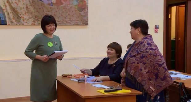 The best teacher of Tatar language and literature