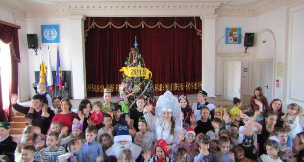 Новогодний праздник для детей в Краснодаре