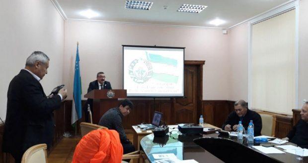 К  25-летию Конституции Республики Узбекистан