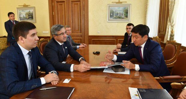 Официальная встреча в городе Алматы